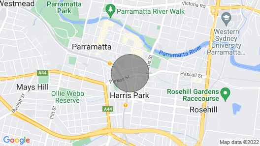 Modern And Chic Apartment Next To Parramatta Station Map