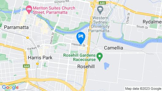Mercure Sydney Parramatta Map
