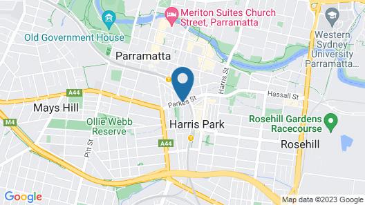 Mantra Parramatta Map