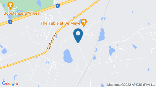 Muldersvlei Estate Map
