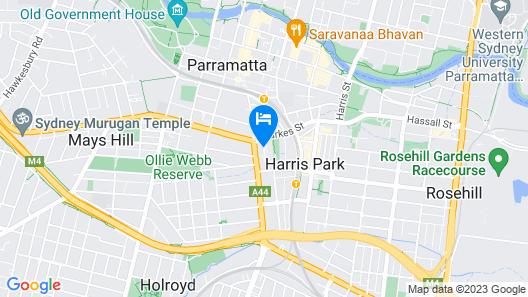 Holiday Inn Parramatta Map