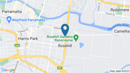 APX Parramatta Map