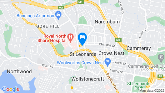 Wyndel Apartments - Sergeants Map