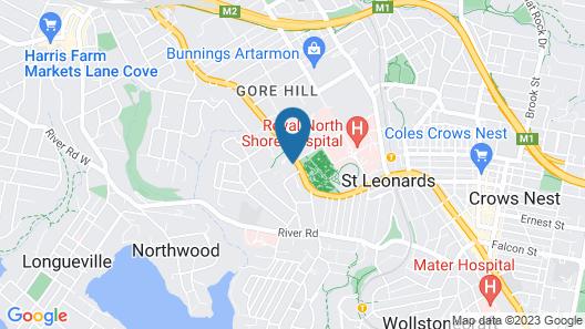 Hotel St Leonards Map