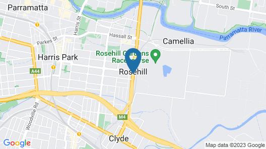 Nesuto Parramatta Map