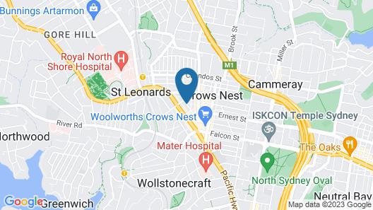 Wyndel Apartments - Clarke Street Map