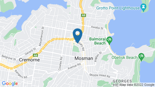 Mosman Library Studio Map
