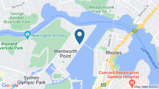 The Waterfront Map