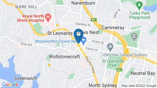 The Apartment Service SANT4 Map