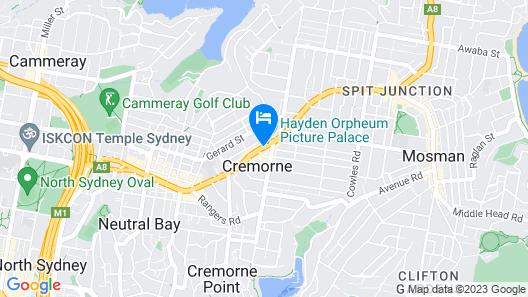 Park Regis Concierge Apartments Map