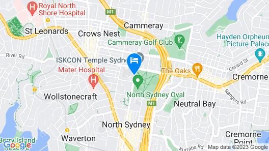 Northshore Hotel Map