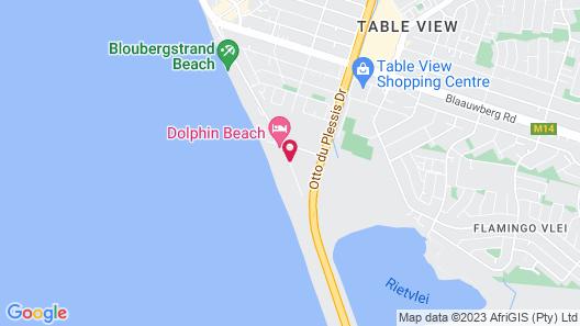 Dolphin Beachfront Condo Map
