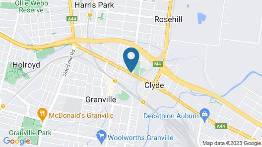 Rosehill Hotel Map