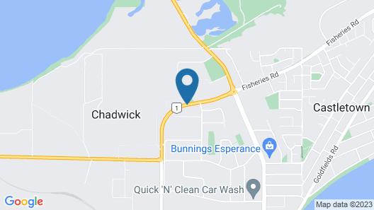 Acclaim Pine Grove Holiday Park Map