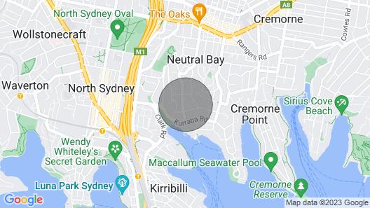 Perfect Harbour Location, Fabulous Accomodation & pet Friendly Map