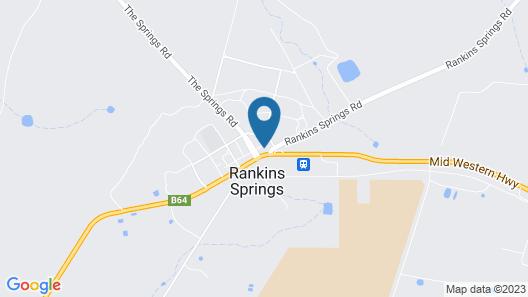 Rankins Springs Motel Map