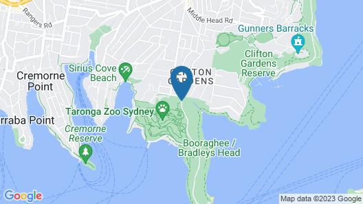 Wildlife Retreat at Taronga Map
