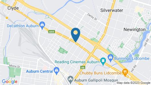 Melton Hotel Map
