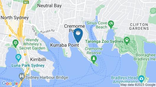Elegant Cremorne Point Apartment - MILS5 Map