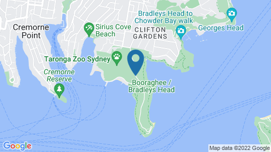 Roar and Snore at Taronga Zoo Sydney Map