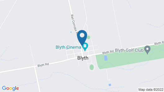The Blyth Hotel Map