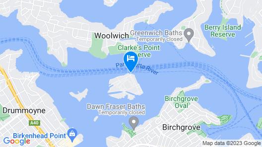 Cockatoo Island Map