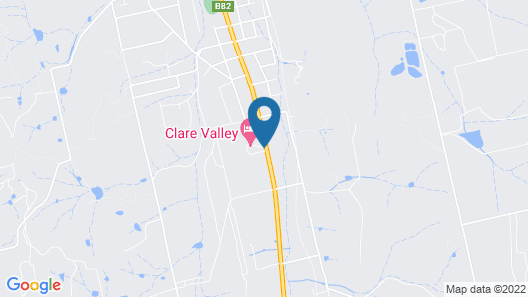 Clare Valley Motel Map