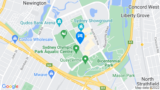 Pullman at Sydney Olympic Park Map
