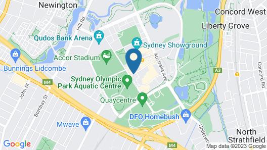 Ibis Sydney Olympic Park Map