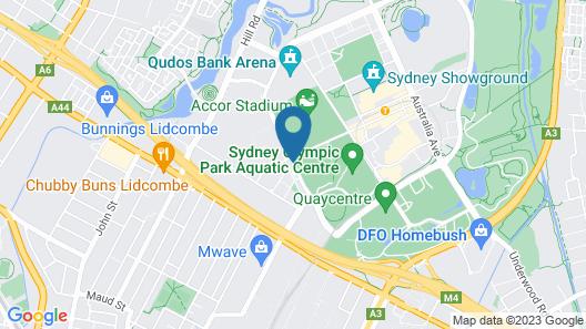 ibis budget Sydney Olympic Park Map