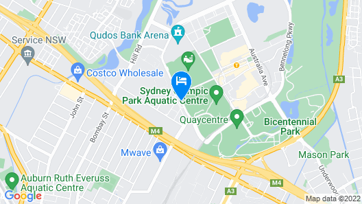 Quest At Sydney Olympic Park Map