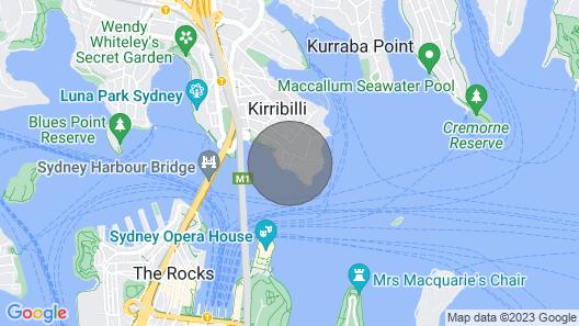 'Reflections' - World Class 360° Sydney Harbour Bridge & Opera House Views ☆ Map