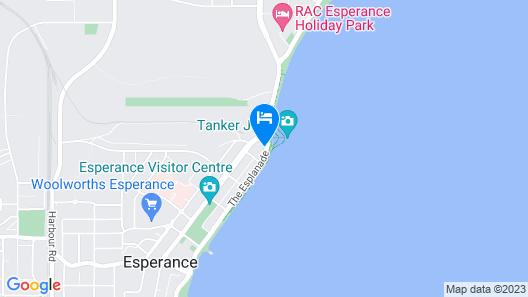 The Jetty Resort Map