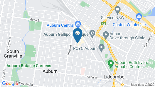 93 Auburn Road, Auburn, NSW 2144, Australia Map