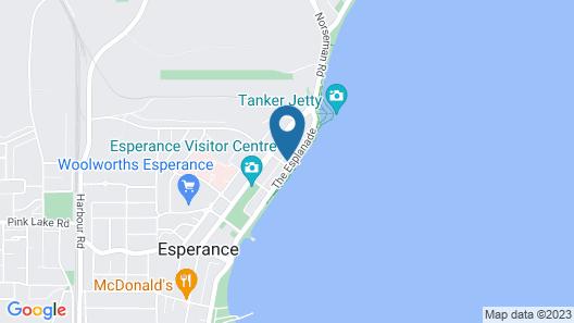 Esperance Island View Apartments Map