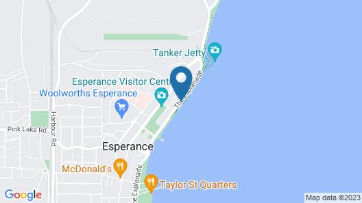 Esperance Beachfront Resort Map