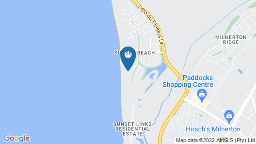 Cape Sunset Villas Map