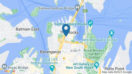 Australian Heritage Hotel Map