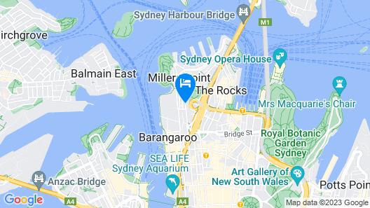 The Langham, Sydney Map