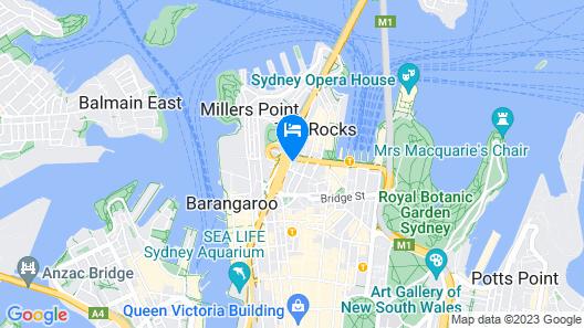 Shangri-La Sydney Map