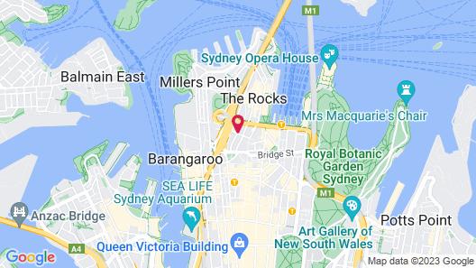 The Sebel Quay West Suites Sydney Map