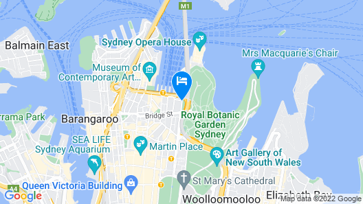Sir Stamford At Circular Quay Map