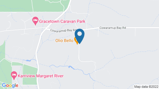 Olio Bello Lakeside Glamping Map