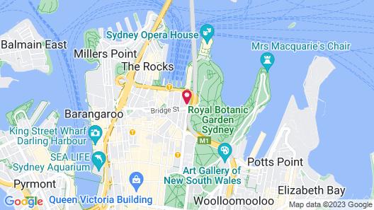 InterContinental Sydney, an IHG Hotel Map