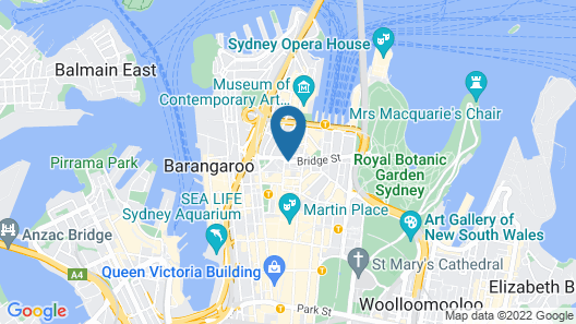 Sydney CBD 503 Brg Furnished Apartment Map