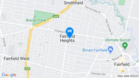 Nightcap at Fairfield Map