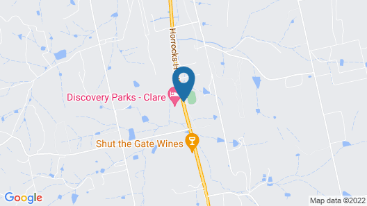 Discovery Parks – Clare Map