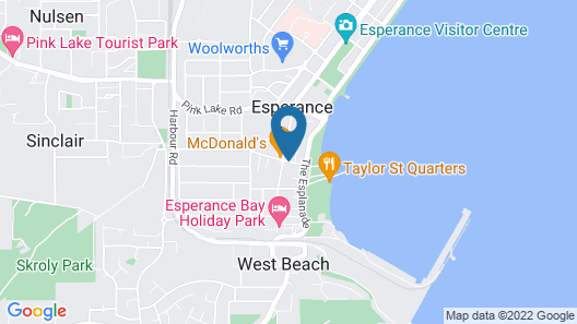 Clearwater Motel Apartments Map