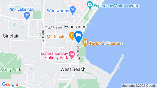 Driftwood Apartments Map
