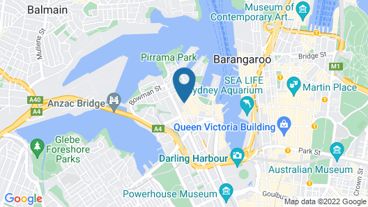 The Star Grand Hotel and Residences Sydney Map